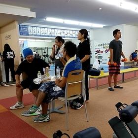 月1~2回運動の日を定めスポーツジムへ(自由参加)